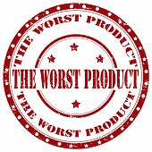 The Worst Product-stamp