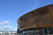 Millennium centre, Cardiff Bay, Wales