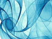 abstract blue background for your project. hq render