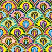 color Buddhist seamles