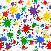 Colorgul blob pattern