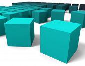 3D cubes dof