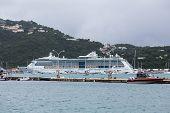 Coast Guard And Cruise Ship
