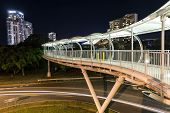 Broadbeach pedestrian bridge from Convention Centre to Jupiters Casino