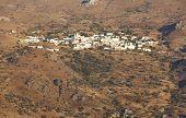 Traditional Cretan Village In The Mountain. Crete. Greece