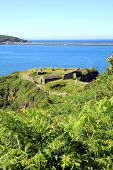 stock photo of raid  - Fishguard Fort - JPG