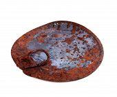 Old Rusty Cap Of Tincan