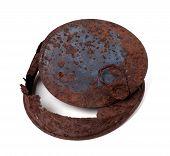 Old Rusty Tin Can