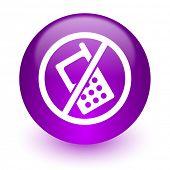no phone internet icon