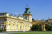 Royal Palace, Warsaw, Wilanow, Poland