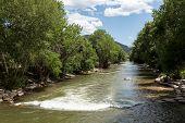 Arkansas River In Colorado