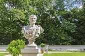 Bust Of Julius Caesar, Lazienki, Warsaw