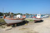 Laganas Coast On Zakynthos In Greece