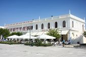 Solomos Square In Zante Town On Zakynthos Island