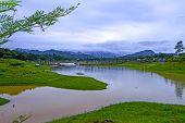 Yellow Lake Before Rains