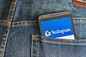 Instagram App Open In The Mobile Phone Htc