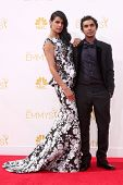 vLOS ANGELES - AUG 25:  Kunal Nayyar at the 2014 Primetime Emmy Awards - Arrivals at Nokia at LA Live on August 25, 2014 in Los Angeles, CA