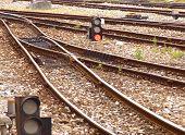 Details of train tracks