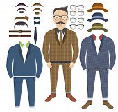 Hipster Style With Elements Of Style