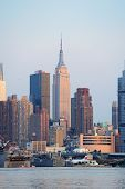 NEW YORK CITY, NY - MAY 30: The Empire State Building is a 102-story landmark skyscraper and was the