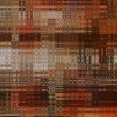 art abstract colorful geometric pattern; background in orange, red, grey and brown colors