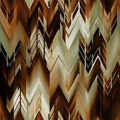 art abstract colorful zigzag geometric seamless pattern background in gold, white, brown and black c