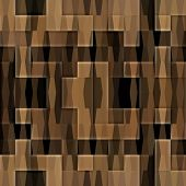 art abstract colorful geometric seamless pattern background in beige and brown colors