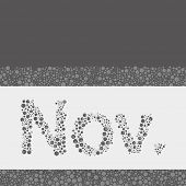 Abstract Dotted Text - Months: November