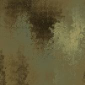 art abstract pixel geometric pattern background in gold, grey and green colors
