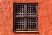 stock photo of rebuilt  - Window of Malmo Castle  - JPG