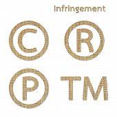 Infringement Symbol