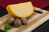 Yellow Round Cheese