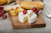 Fresh Camembert From Organic Farms