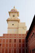 Clock Tower At Palace