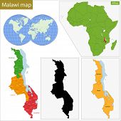 Administrative division of the Republic of Malawi