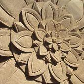 Stone Flower Pattern