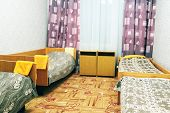 picture of motel  - four local motel room - JPG