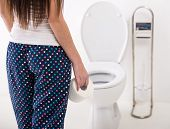 image of toilet  - Close - JPG