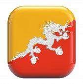 Bhutan Dragon Flag Icon Image