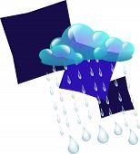 Rainy Clouds Design
