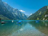 Kloentaler Lake In Summer