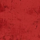 Red Messy Grunge Texture