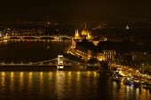 Parliament On The Danube River, Budapest