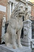 picture of arsenal  - Lion Sculpture at the Venetian Arsenal - JPG
