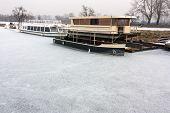 Frozen Boats