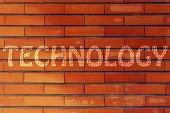 Technology Writing With Binary Code Pattern