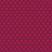 Abstract seamless pattern. Vector illustration. Warm red figures. Plain geometric texture.