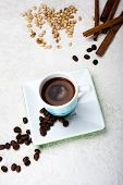 The Cup Of Espresso Coffee
