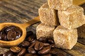 Coffee Beans With Cane Sugar