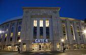 Yankee Stadium In The Bronx New York